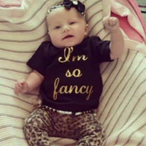 'I'm So Fancy' Baby & Child Tshirt