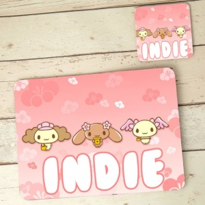 Animals Placemat and Coaster Set