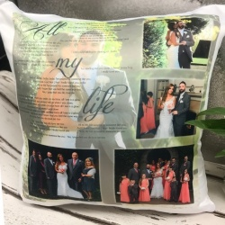 Lyric Wedding Cushion