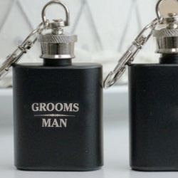 Groom / Groomsman / Best Man  Mini Flask