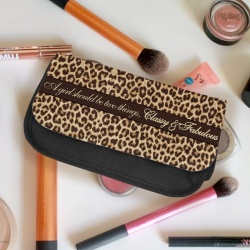 'A Girl should be two things, Classy and Fabulous' Vanity Case