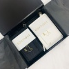 Passport & Luggage Tag Travel Set in Black Presentation Box