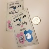 Gender Reveal Small Scratch Card