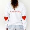 Heart on your sleeve Sweatshirt W/ Optional Personalisation