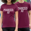 Married AF His / Hers T-Shirt Set