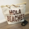 'Hola Beaches' Large Tote Bag