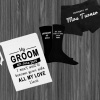 White Groom Personalised Gift Set