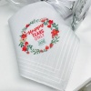 'Happy Tears Only'  Personalised Handkerchief