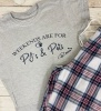 Weekends are for PJ's & Pets Pyjama Set
