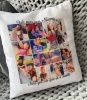 Real Unique Collage Cuddle Cushion Pillow