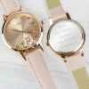 Rose Gold Personalised Ladies Watch with Gift Box