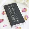 Black and White Personalised Chocolate Bar