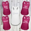 Hen Party Racer Tank  - Various Colours