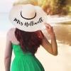Personalised Natural Sun Beach Hat