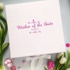 Personalised White Ladies Gift Box Any Name / Role Printed