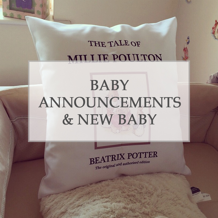 Baby Announcements & New Baby
