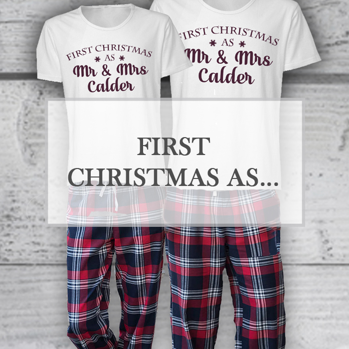 First Christmas as...