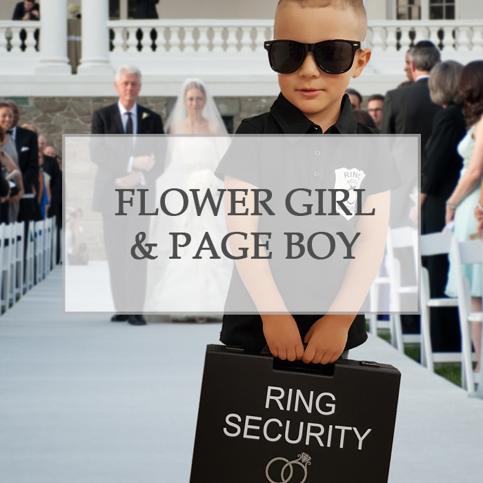 Flower Girls & Page Boys