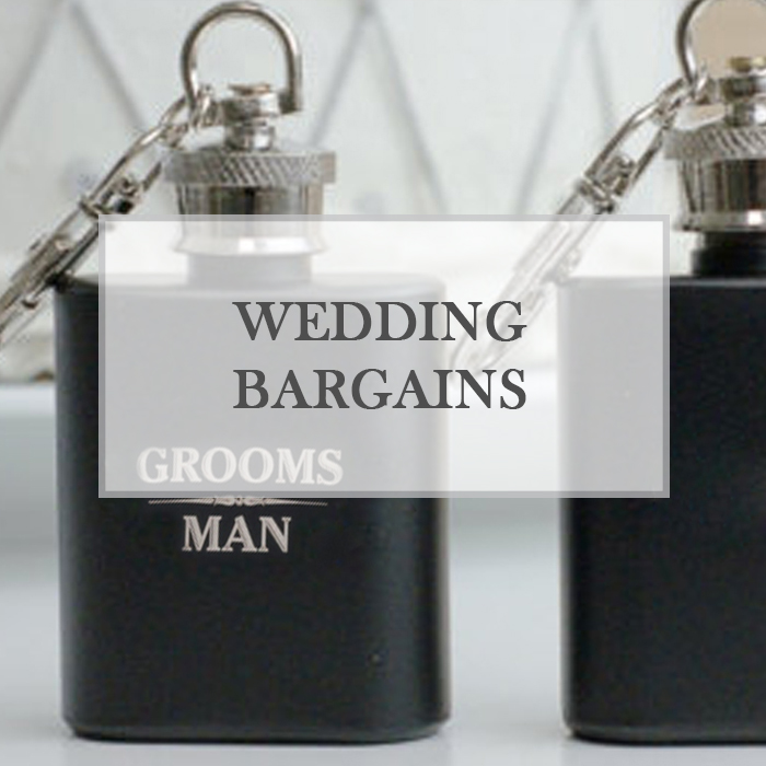 Wedding Bargains