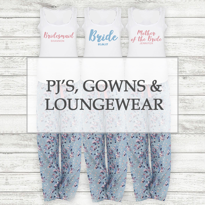 PJ Sets, Gowns & Loungewear