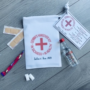 Personalised Hangover Survival Kit Set