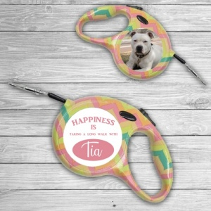 Personalised Female Dog Lead