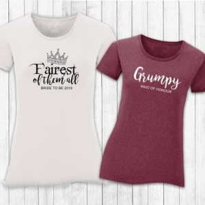'Fairest of them all' Personalised T-shirts