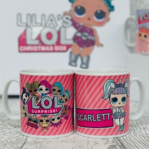 Personalised L.O.L LOL Surprise Mug