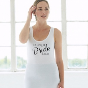 'Here comes the Bride' Vest Top