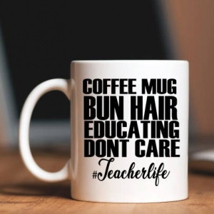 Teacher Life Personalised Mug