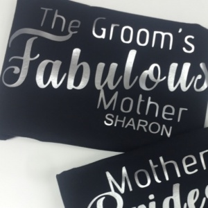 FREE Personalised fabulous Mother of the Bride / Groom Vest Top