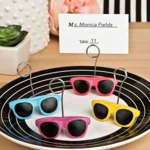 Sunglasses Place Card / Photo Holders