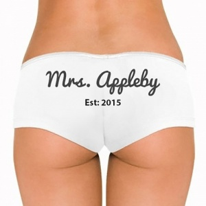 Personalised Ladies Briefs