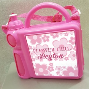 Personalised Flower Girl Lunch Box & Flask