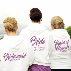 Bridal Party Personalised Hoodie