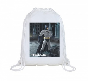 Batman Personalised Swim Bag