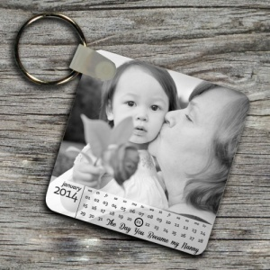 The Day You Became My Nanny Calendar Keyring