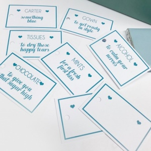 White Bride Survival Tags