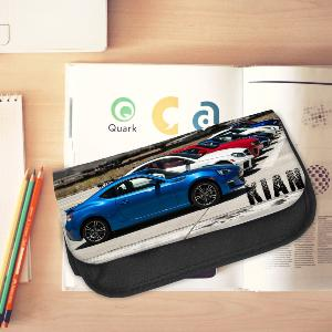 Personalised Drag Car Pencil Case