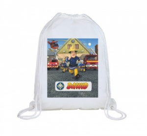 Fireman Sam Personalised Swim Bag