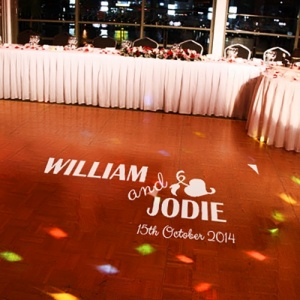 Personalised Removable Dance Floor Decal