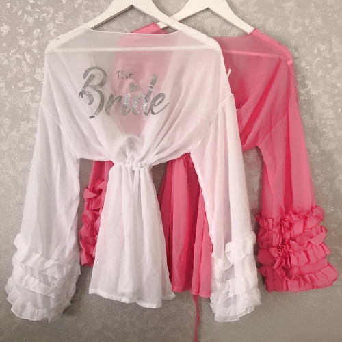 e567bbe4c2162 Personalised Short Frilly Cover Up Kaftan Real Unique