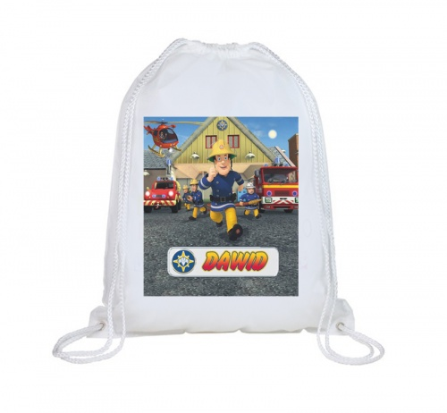 Fireman Sam Personalised Swimbag