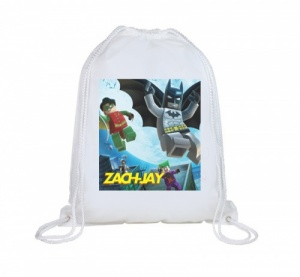 Lego Batman Personalised Swim Bag