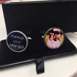 Always your little girl cufflinks
