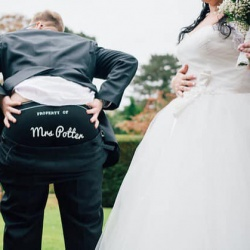'Property of *Name*  Boxer Shorts Ideal Groom Gift