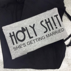 'Holy Sh*t' Hen Party Vest / PJ Top