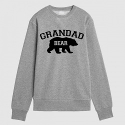 Grandad Bear Personalised Sweatshirt