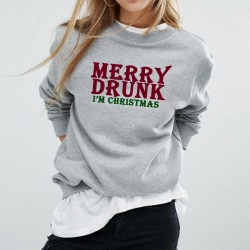 Merry Drunk Christmas Jumper