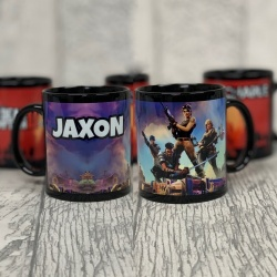 Personalised Fortnite Personalised Black Mug